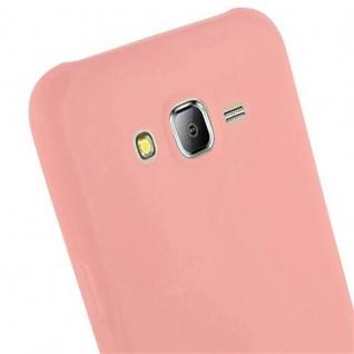 Cadorabo Hülle für Samsung Galaxy J7 2015 in CANDY ROSA - Handyhülle aus flexiblem TPU Silikon - Silikonhülle Schutzhülle Ultra Slim Soft Back Cover Case Bumper - Vorschau 5