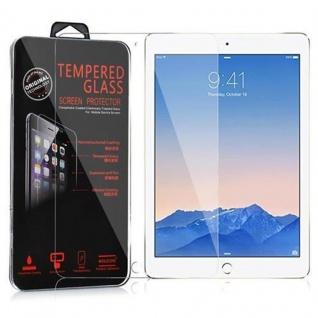 Cadorabo Panzer Folie für Apple iPad AIR / iPad AIR 2 - Schutzfolie in KRISTALL KLAR - Gehärtetes (Tempered) Display-Schutzglas in 9H Härte mit 3D Touch Kompatibilität