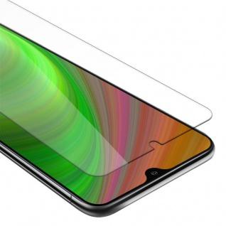 Cadorabo Panzer Folie für Samsung Galaxy A10 - Schutzfolie in KRISTALL KLAR - Gehärtetes (Tempered) Display-Schutzglas in 9H Härte mit 3D Touch Kompatibilität