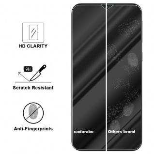 Cadorabo Panzer Folie für Samsung Galaxy M10 - Schutzfolie in KRISTALL KLAR - Gehärtetes (Tempered) Display-Schutzglas in 9H Härte mit 3D Touch Kompatibilität - Vorschau 2