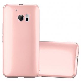 Cadorabo Hülle für HTC 10 (One M10) in METALL ROSÉ GOLD Hardcase Handyhülle aus Plastik gegen Kratzer und Stöße Schutzhülle Bumper Ultra Slim Back Case Hard Cover