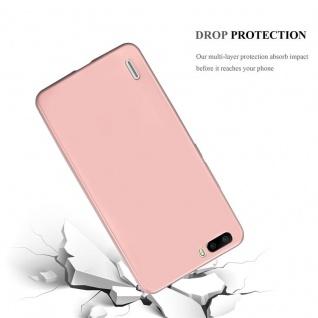 Cadorabo Hülle für Honor 6 PLUS in METALLIC ROSÉ GOLD - Handyhülle aus flexiblem TPU Silikon - Silikonhülle Schutzhülle Ultra Slim Soft Back Cover Case Bumper - Vorschau 3