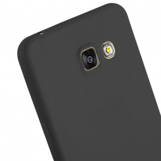 Cadorabo Hülle für Samsung Galaxy A5 2016 in CANDY SCHWARZ - Handyhülle aus flexiblem TPU Silikon - Silikonhülle Schutzhülle Ultra Slim Soft Back Cover Case Bumper - Vorschau 5