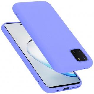 Cadorabo Hülle für Samsung Galaxy A81 / NOTE 10 LITE / M60S in LIQUID HELL LILA Handyhülle aus flexiblem TPU Silikon Silikonhülle Schutzhülle Ultra Slim Soft Back Cover Case Bumper