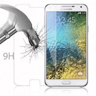 Cadorabo Panzer Folie für Samsung Galaxy E7 - Schutzfolie in KRISTALL KLAR - Gehärtetes (Tempered) Display-Schutzglas in 9H Härte mit 3D Touch Kompatibilität - Vorschau 3