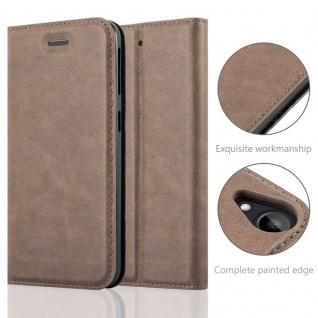 Cadorabo Hülle für HTC DESIRE 530 / 630 in KAFFEE BRAUN - Handyhülle mit Magnetverschluss, Standfunktion und Kartenfach - Case Cover Schutzhülle Etui Tasche Book Klapp Style - Vorschau 2
