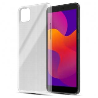 Cadorabo Hülle kompatibel mit Honor 9s in VOLL TRANSPARENT Handyhülle aus flexiblem TPU Silikon Silikonhülle Schutzhülle Ultra Slim Soft Back Cover Case Bumper