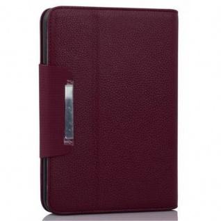 """Cadorabo Hülle für Kindle Fire HD (7, 0"""" Zoll) - Hülle in PFLAUMEN LILA ? Schutzhülle mit Standfunktion und Kartenfach - Book Style Etui Bumper Case Cover - Vorschau 2"""