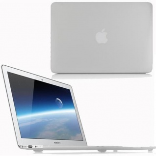 Cadorabo - Mattes HardCase für Apple MacBook PRO 15 (Zoll) ? Case Hartschale Schutzhülle Cover MacBook Tasche in TRANSPARENT - leicht und schützend