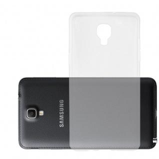 Cadorabo Hülle für Samsung Galaxy NOTE 3 NEO - Hülle in VOLL TRANSPARENT ? Handyhülle aus TPU Silikon im Ultra Slim 'AIR' Design - Silikonhülle Schutzhülle Soft Back Cover Case Bumper