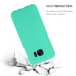 Cadorabo Hülle für Samsung Galaxy S7 EDGE in FROSTY GRÜN - Hardcase Handyhülle aus Plastik gegen Kratzer und Stöße - Schutzhülle Bumper Ultra Slim Back Case Hard Cover - Vorschau 4