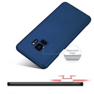 Cadorabo Hülle für Samsung Galaxy S9 in METALL BLAU - Hardcase Handyhülle aus Plastik gegen Kratzer und Stöße - Schutzhülle Bumper Ultra Slim Back Case Hard Cover - Vorschau 4