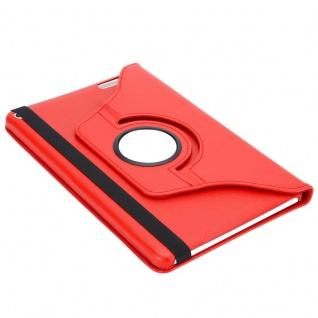 """"""" Cadorabo Tablet Hülle für Huawei MediaPad T1 10 (10, 0"""" Zoll) in MOHN ROT ? Book Style Schutzhülle OHNE Auto Wake Up mit Standfunktion und Gummiband Verschluss"""" - Vorschau 5"""