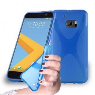 Cadorabo Hülle für HTC 10 in ROYAL BLAU ? Handyhülle aus flexiblem TPU Silikon ? Silikonhülle Schutzhülle Ultra Slim Soft Back Cover Case Bumper