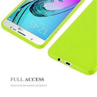 Cadorabo Hülle für Samsung Galaxy J7 2015 in JELLY GRÜN - Handyhülle aus flexiblem TPU Silikon - Silikonhülle Schutzhülle Ultra Slim Soft Back Cover Case Bumper - Vorschau 4