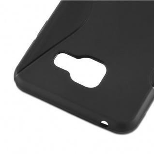 Cadorabo Hülle für Samsung Galaxy A3 2016 in OXID SCHWARZ ? Handyhülle aus flexiblem TPU Silikon ? Silikonhülle Schutzhülle Ultra Slim Soft Back Cover Case Bumper - Vorschau 4