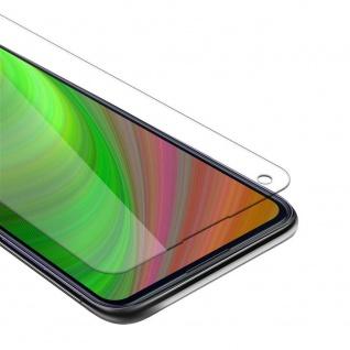 Cadorabo Panzer Folie für Samsung Galaxy M11 Schutzfolie in KRISTALL KLAR Gehärtetes (Tempered) Display-Schutzglas in 9H Härte mit 3D Touch Kompatibilität