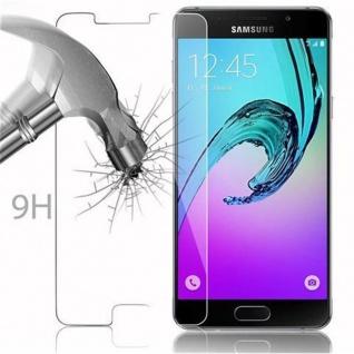 Cadorabo Panzer Folie für Samsung Galaxy A5 2016 - Schutzfolie in KRISTALL KLAR - Gehärtetes (Tempered) Display-Schutzglas in 9H Härte mit 3D Touch Kompatibilität - Vorschau 3