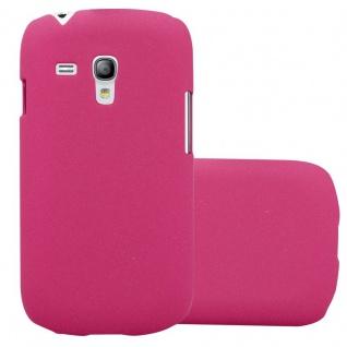 Cadorabo Hülle für Samsung Galaxy S3 MINI in FROSTY PINK - Hardcase Handyhülle aus Plastik gegen Kratzer und Stöße - Schutzhülle Bumper Ultra Slim Back Case Hard Cover