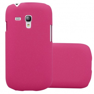 Cadorabo Hülle für Samsung Galaxy S3 MINI in FROSTY PINK Hardcase Handyhülle aus Plastik gegen Kratzer und Stöße Schutzhülle Bumper Ultra Slim Back Case Hard Cover