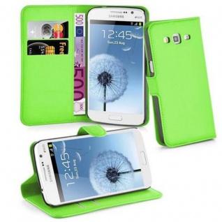 Cadorabo Hülle für Samsung Galaxy GRAND 2 in MINZ GRÜN - Handyhülle mit Magnetverschluss, Standfunktion und Kartenfach - Case Cover Schutzhülle Etui Tasche Book Klapp Style - Vorschau 1