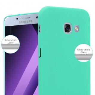 Cadorabo Hülle für Samsung Galaxy A3 2017 in FROSTY GRÜN - Hardcase Handyhülle aus Plastik gegen Kratzer und Stöße - Schutzhülle Bumper Ultra Slim Back Case Hard Cover - Vorschau 4