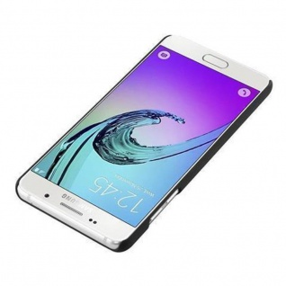 Cadorabo Hülle für Samsung Galaxy A3 2016 in WOODY BRAUN ? Hardcase Handyhülle aus Plastik gegen Kratzer und Stöße ? Schutzhülle Bumper Ultra Slim Back Case Hard Cover - Vorschau 4