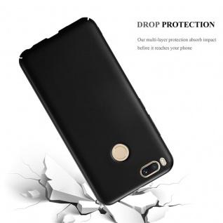 Cadorabo Hülle für Xiaomi Mi A1 / 5X in METALL SCHWARZ ? Hardcase Handyhülle aus Plastik gegen Kratzer und Stöße ? Schutzhülle Bumper Ultra Slim Back Case Hard Cover - Vorschau 3