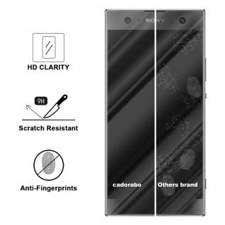 Cadorabo Panzer Folie für Sony Xperia XA2 ULTRA - Schutzfolie in KRISTALL KLAR - Gehärtetes (Tempered) Display-Schutzglas in 9H Härte mit 3D Touch Kompatibilität - Vorschau 3