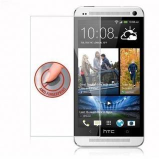 Cadorabo Panzer Folie für HTC ONE M7 (1.Gen.) - Schutzfolie in KRISTALL KLAR - Gehärtetes (Tempered) Display-Schutzglas in 9H Härte mit 3D Touch Kompatibilität - Vorschau 4