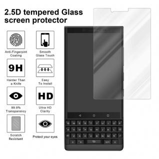 Cadorabo Panzer Folie für Blackberry KEY 2 - Schutzfolie in KRISTALL KLAR - Gehärtetes (Tempered) Display-Schutzglas in 9H Härte mit 3D Touch Kompatibilität - Vorschau 4