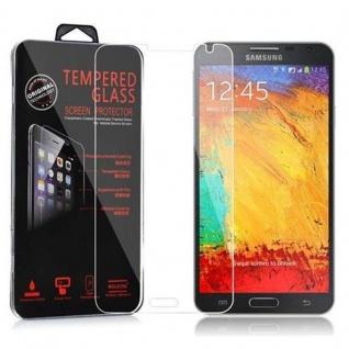 Cadorabo Panzer Folie für Samsung Galaxy NOTE 3 NEO - Schutzfolie in KRISTALL KLAR - Gehärtetes (Tempered) Display-Schutzglas in 9H Härte mit 3D Touch Kompatibilität