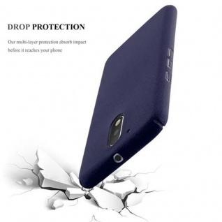 Cadorabo Hülle für Motorola MOTO G4 / MOTO G4 PLUS in FROSTY BLAU - Hardcase Handyhülle aus Plastik gegen Kratzer und Stöße - Schutzhülle Bumper Ultra Slim Back Case Hard Cover - Vorschau 3