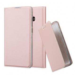 Cadorabo Hülle für Xiaomi Mi MIX 2 in CLASSY ROSÉ GOLD - Handyhülle mit Magnetverschluss, Standfunktion und Kartenfach - Case Cover Schutzhülle Etui Tasche Book Klapp Style
