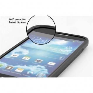 Cadorabo Hülle für HTC Desire 516 in OXID SCHWARZ ? Handyhülle aus flexiblem TPU Silikon ? Silikonhülle Schutzhülle Ultra Slim Soft Back Cover Case Bumper - Vorschau 5