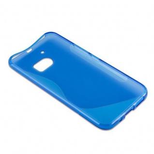 Cadorabo Hülle für HTC 10 (One M10) in ROYAL BLAU - Handyhülle aus flexiblem TPU Silikon - Silikonhülle Schutzhülle Ultra Slim Soft Back Cover Case Bumper - Vorschau 5