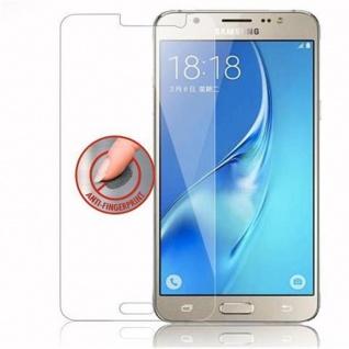 Cadorabo Panzer Folie für Samsung Galaxy J5 - Schutzfolie in KRISTALL KLAR - Gehärtetes (Tempered) Display-Schutzglas in 9H Härte mit 3D Touch Kompatibilität - Vorschau 4
