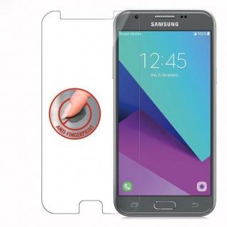 Cadorabo Panzer Folie für Samsung Galaxy J3 2017 - Schutzfolie in KRISTALL KLAR - Gehärtetes (Tempered) Display-Schutzglas in 9H Härte mit 3D Touch Kompatibilität - Vorschau 4