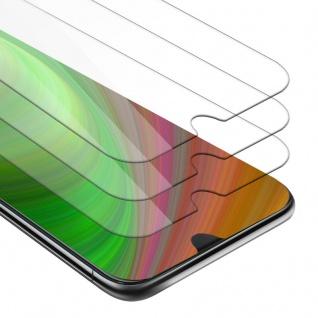 Cadorabo 3x Panzer Folie für HTC Desire 19+ - Schutzfolie in KRISTALL KLAR - 3er Pack Gehärtetes (Tempered) Display-Schutzglas in 9H Härte mit 3D Touch Kompatibilität