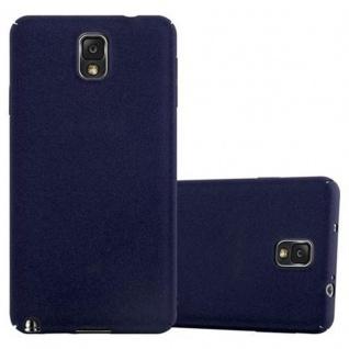 Cadorabo Hülle für Samsung Galaxy NOTE 3 in FROSTY BLAU - Hardcase Handyhülle aus Plastik gegen Kratzer und Stöße - Schutzhülle Bumper Ultra Slim Back Case Hard Cover