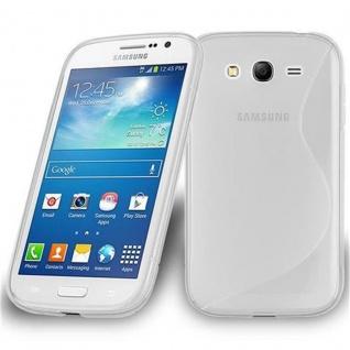 Cadorabo Hülle für Samsung Galaxy GRAND 3 in HALB TRANSPARENT ? Handyhülle aus flexiblem TPU Silikon ? Silikonhülle Schutzhülle Ultra Slim Soft Back Cover Case Bumper