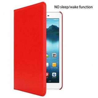 """Cadorabo Tablet Hülle für Huawei MediaPad T1 8 (8, 0"""" Zoll) in MOHN ROT Book Style Schutzhülle OHNE Auto Wake Up mit Standfunktion und Gummiband Verschluss - Vorschau 3"""