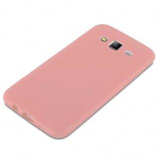 Cadorabo Hülle für Samsung Galaxy J5 2015 in CANDY ROSA - Handyhülle aus flexiblem TPU Silikon - Silikonhülle Schutzhülle Ultra Slim Soft Back Cover Case Bumper - Vorschau 4