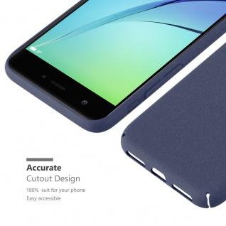 Cadorabo Hülle für Huawei Nova in FROSTY BLAU - Hardcase Handyhülle aus Plastik gegen Kratzer und Stöße - Schutzhülle Bumper Ultra Slim Back Case Hard Cover - Vorschau 3
