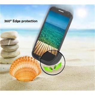 Cadorabo Hülle für Samsung Galaxy A8 2015 in OXID SCHWARZ - Handyhülle aus flexiblem TPU Silikon - Silikonhülle Schutzhülle Ultra Slim Soft Back Cover Case Bumper - Vorschau 5