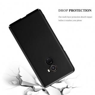 Cadorabo Hülle für Xiaomi Mi Mix 2 in METALL SCHWARZ ? Hardcase Handyhülle aus Plastik gegen Kratzer und Stöße ? Schutzhülle Bumper Ultra Slim Back Case Hard Cover - Vorschau 3