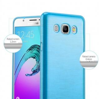 Cadorabo Hülle für Samsung Galaxy J7 2016 in TÜRKIS - Handyhülle aus flexiblem TPU Silikon - Silikonhülle Schutzhülle Ultra Slim Soft Back Cover Case Bumper - Vorschau 2