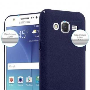 Cadorabo Hülle für Samsung Galaxy J5 2015 in FROSTY BLAU - Hardcase Handyhülle aus Plastik gegen Kratzer und Stöße - Schutzhülle Bumper Ultra Slim Back Case Hard Cover - Vorschau 5