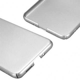 Cadorabo Hülle für Huawei P10 LITE in METALL SILBER - Hardcase Handyhülle aus Plastik gegen Kratzer und Stöße - Schutzhülle Bumper Ultra Slim Back Case Hard Cover - Vorschau 5
