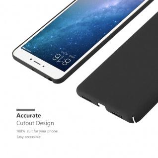 Cadorabo Hülle für Xiaomi Mi Max 2 in FROSTY SCHWARZ - Hardcase Handyhülle aus Plastik gegen Kratzer und Stöße - Schutzhülle Bumper Ultra Slim Back Case Hard Cover - Vorschau 5
